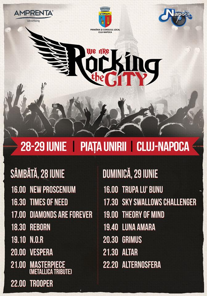 We Are Rocking the City @ Piata Unirii