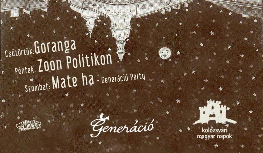 Generacio Party @ Hotel Continental