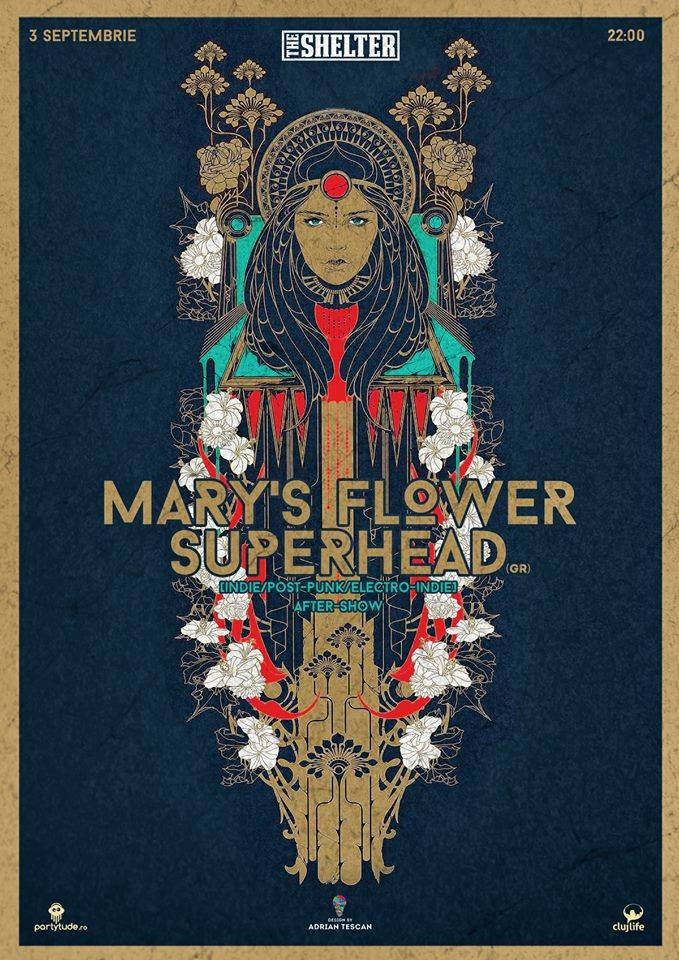 Mary's Flower Superhead @ The Shelter