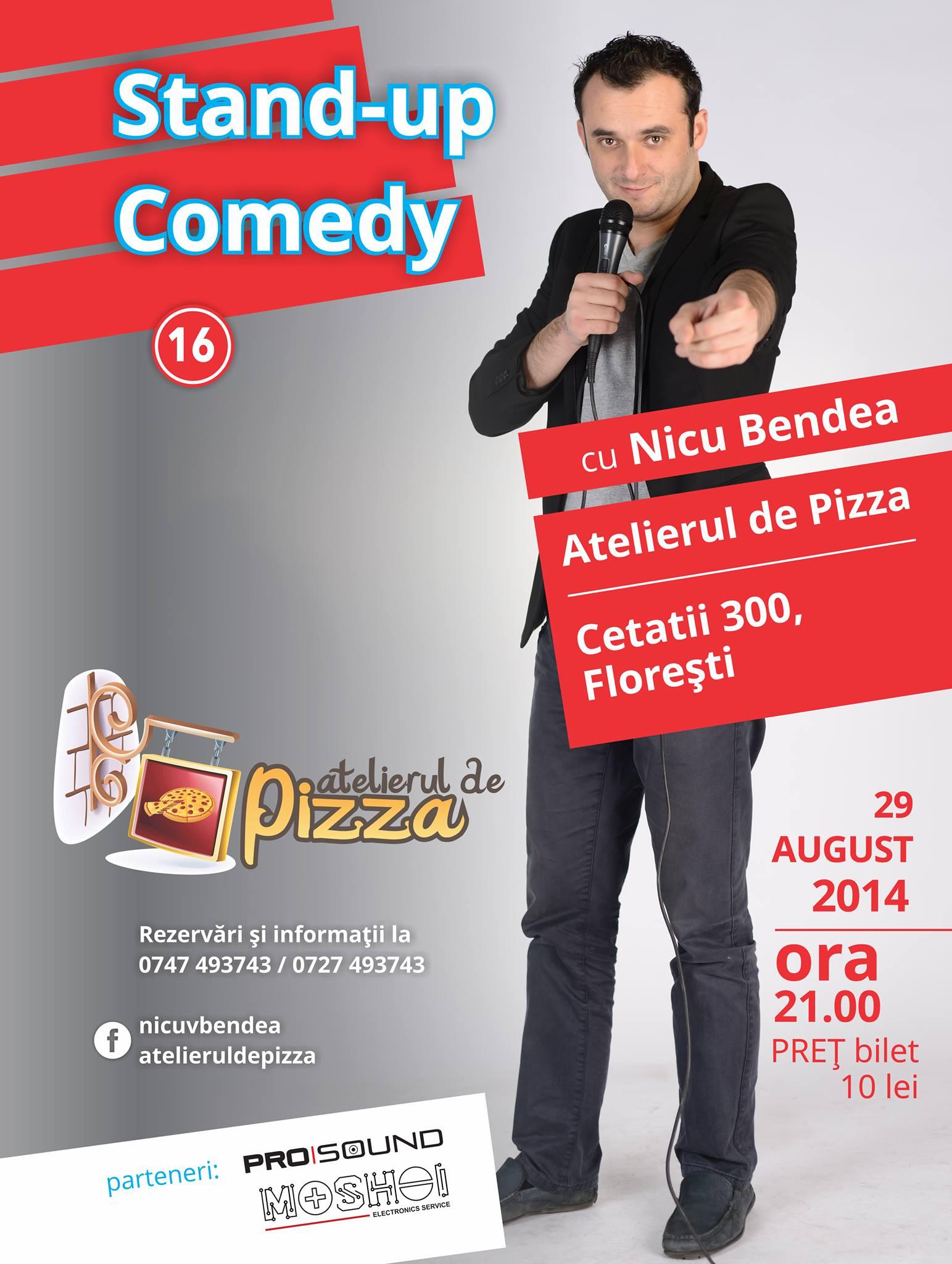 Nicu Bendea @ Atelierul de Pizza
