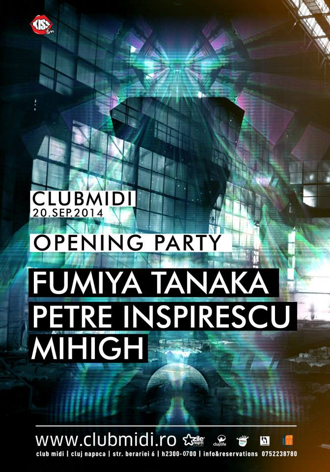Fumiya Tanaka / Petre Inspirescu @ Club Midi