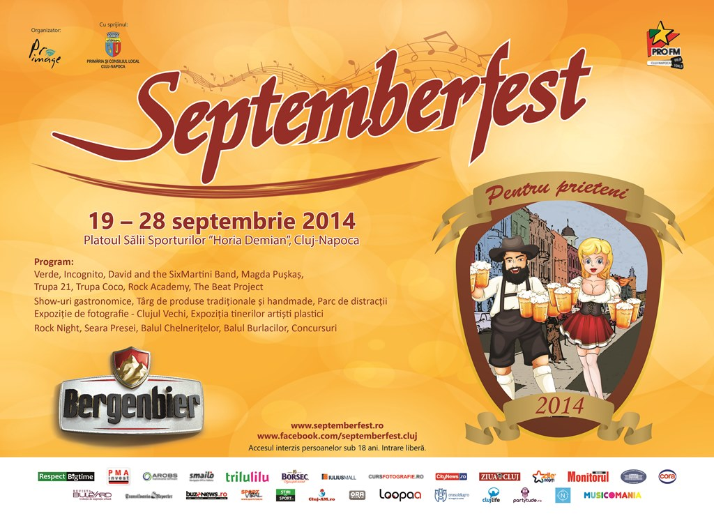 Septemberfest 2014 @ Sala Sporturilor
