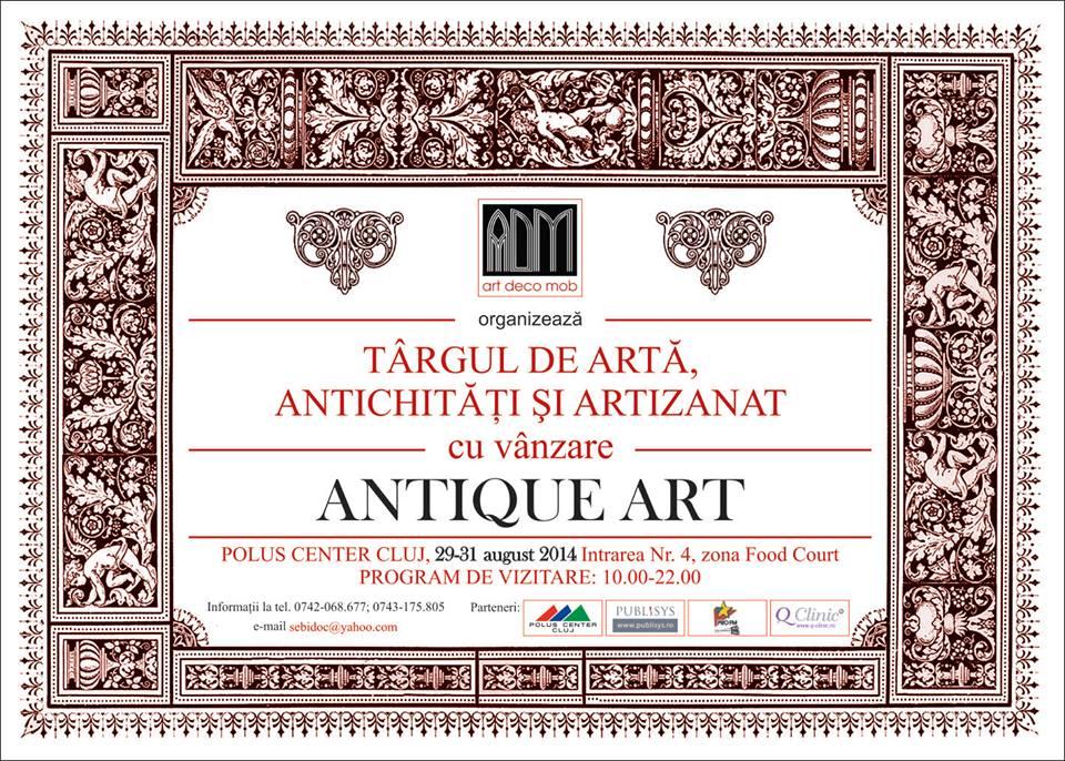 Târg de artă, antichităţi şi artizanat