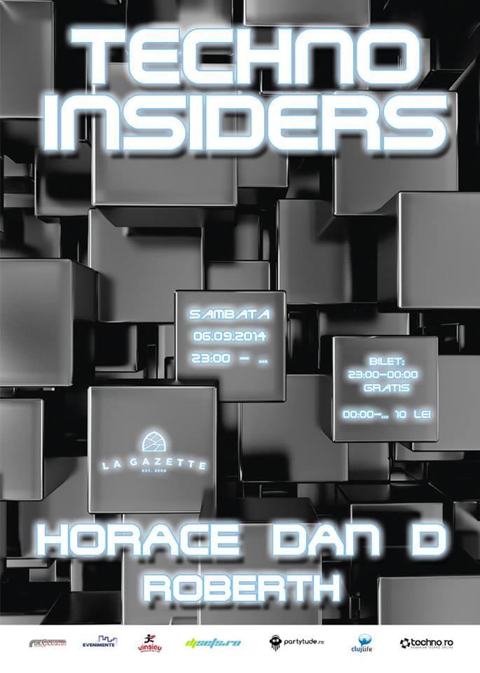 Techno Insiders @ La Gazette