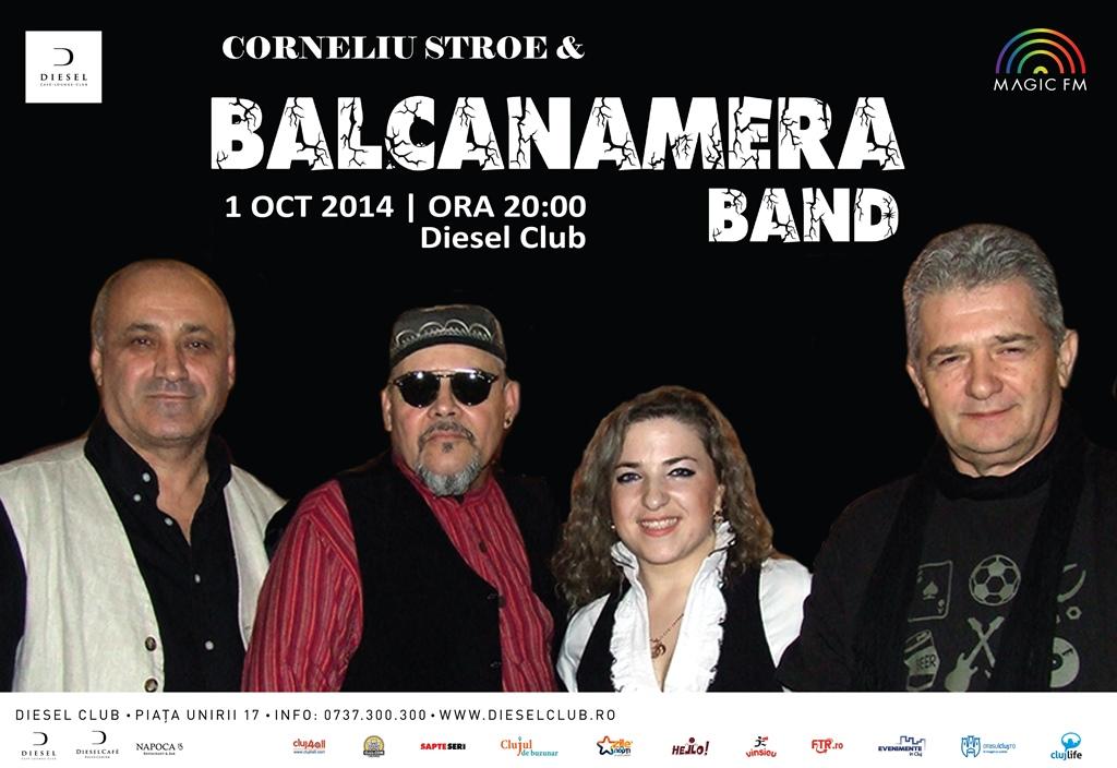 Corneliu Stroe & Balcanamera Band @ Diesel Club