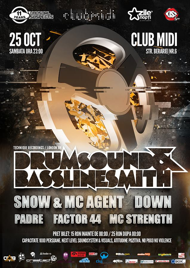 Drumsound & Bassline Smith @ Club Midi