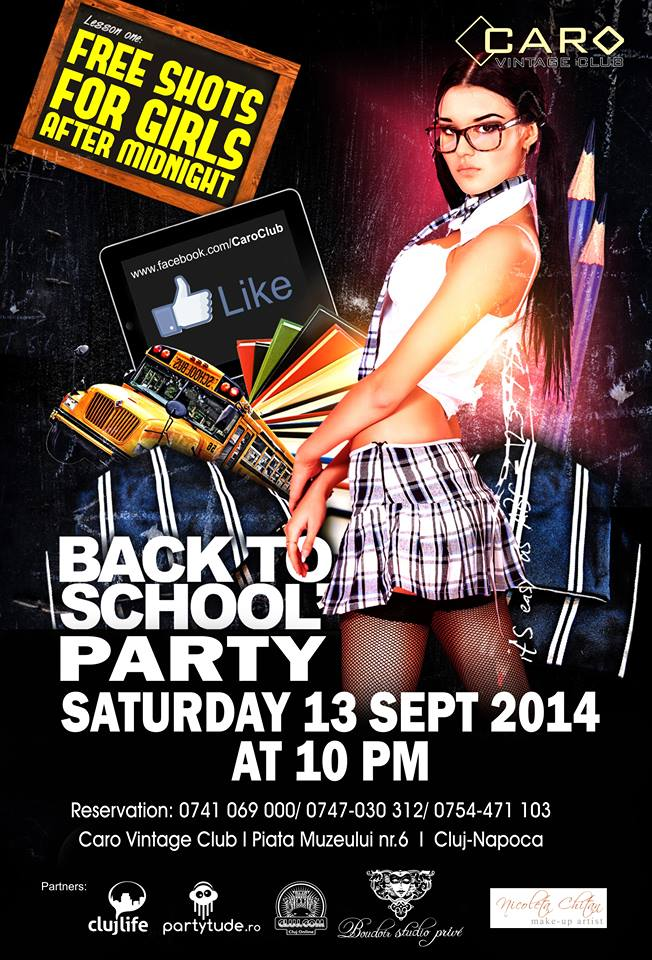 Back to school party @ Caro Club