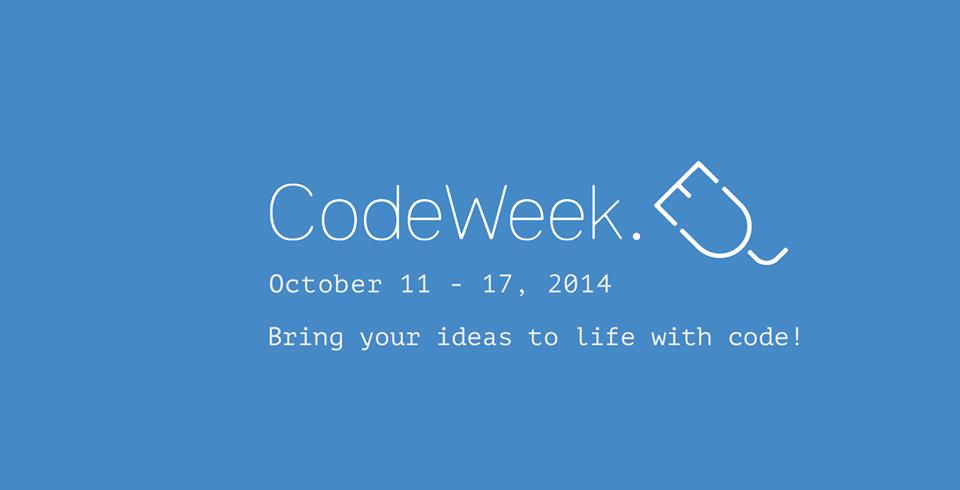 Code Week: Learn how to teach programming