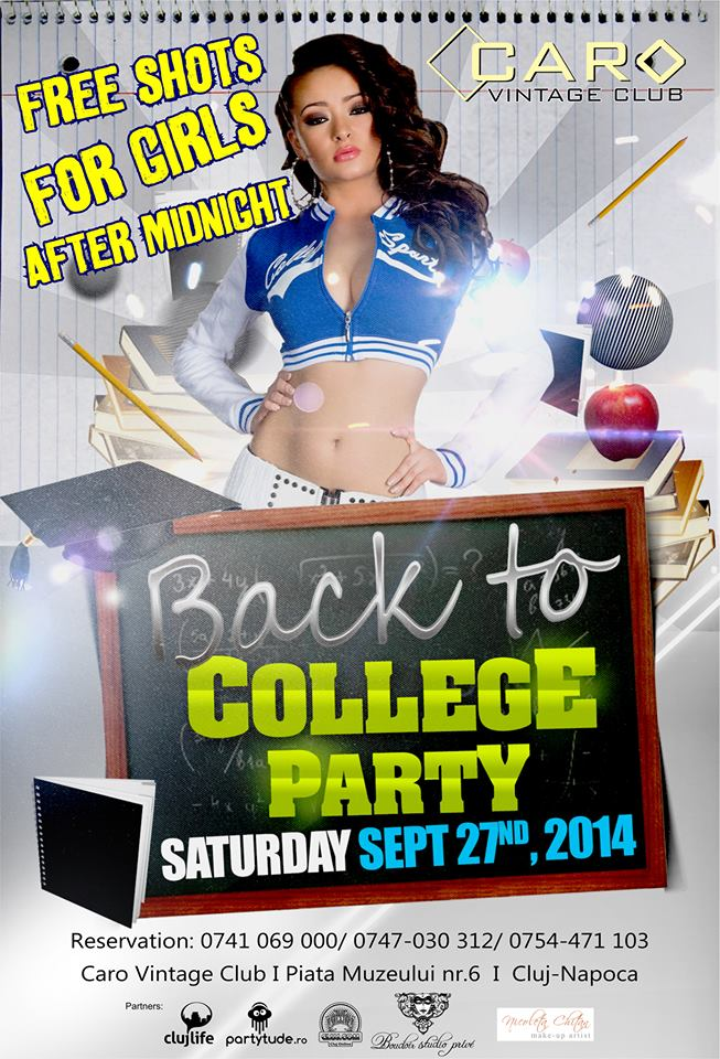 Back to College Party @ Caro Club
