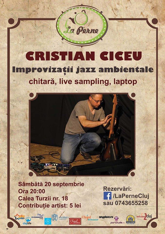 Cristian Ciceu @ La Perne
