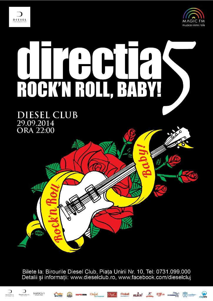 Directia 5 – Rock'n roll, baby @ Diesel Club