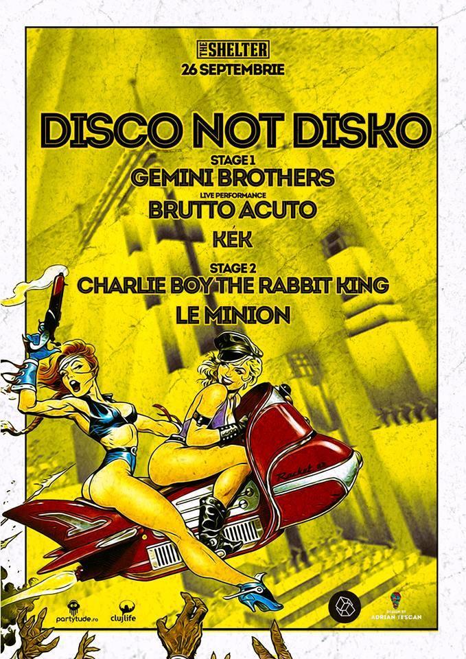 Disco Not Disko @ The Shelter