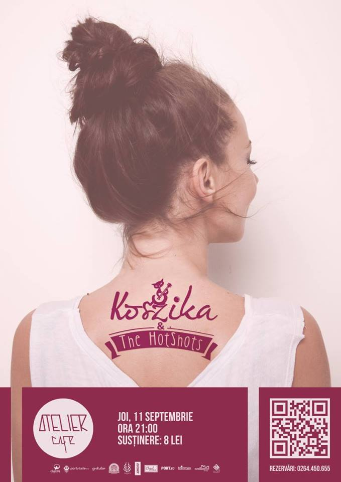 Koszika & The Hotshots @ Atelier Cafe
