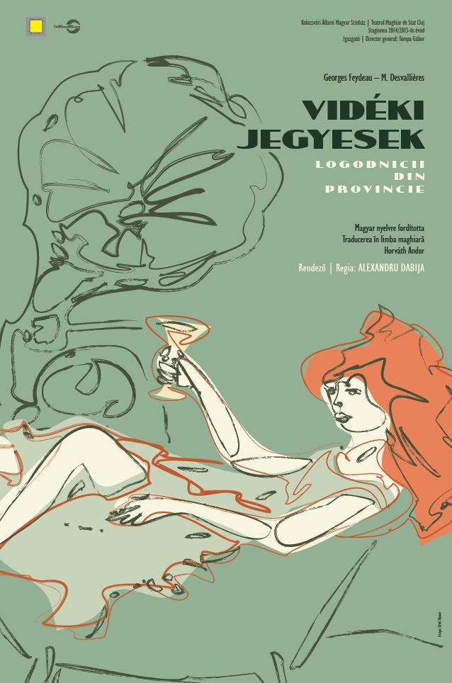 Logodnicii din provincie @ Teatrul Maghiar