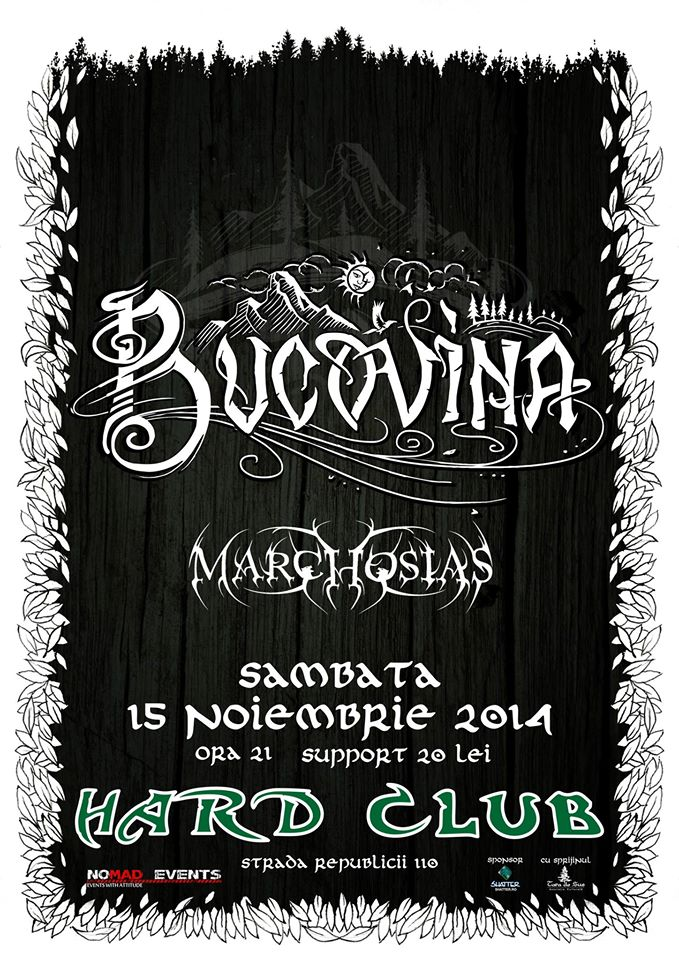 Marchosias / Bucovina @ Hard Club