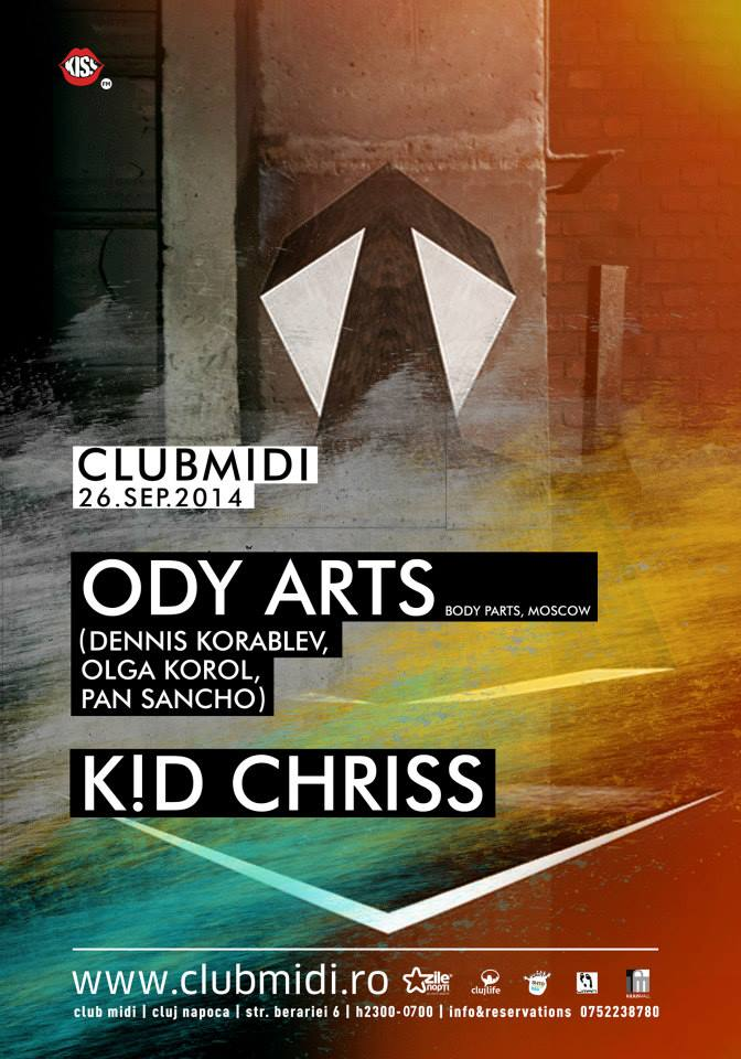 ODY Arts & K!D Chriss @ Club Midi