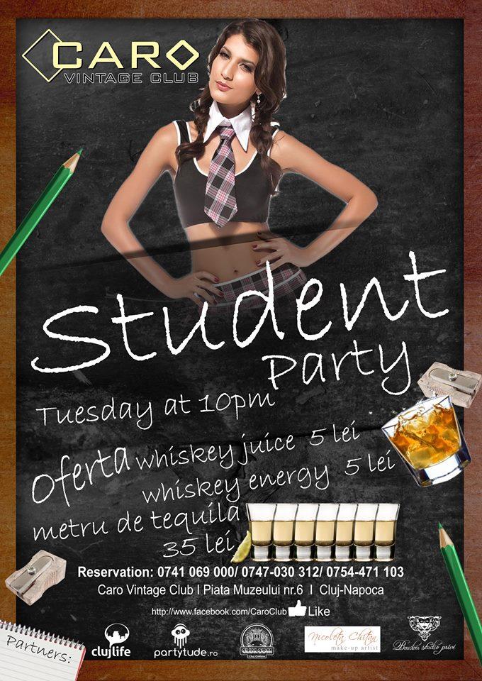 Student Party @ Caro Club