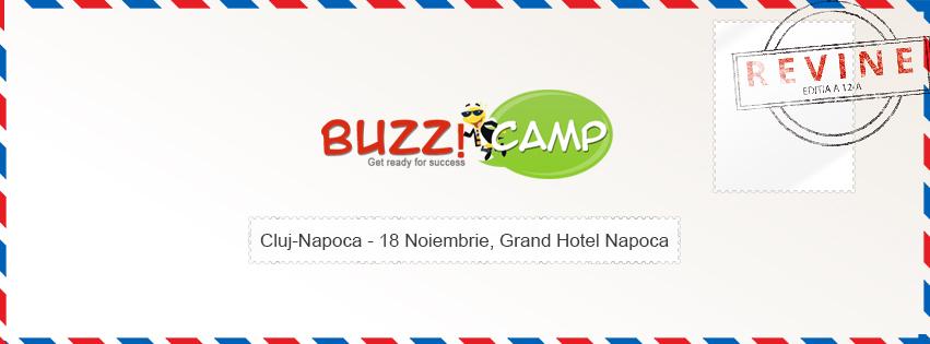 BuzzCamp @ Grand Hotel Napoca