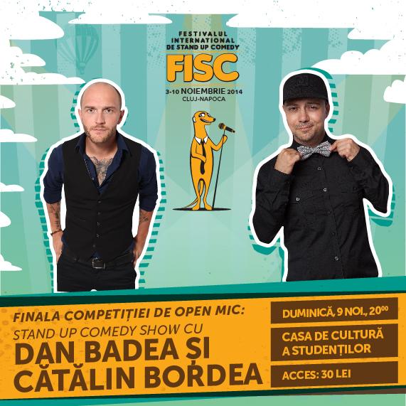 Stand-up Comedy cu Dan Badea și Cătălin Bordea