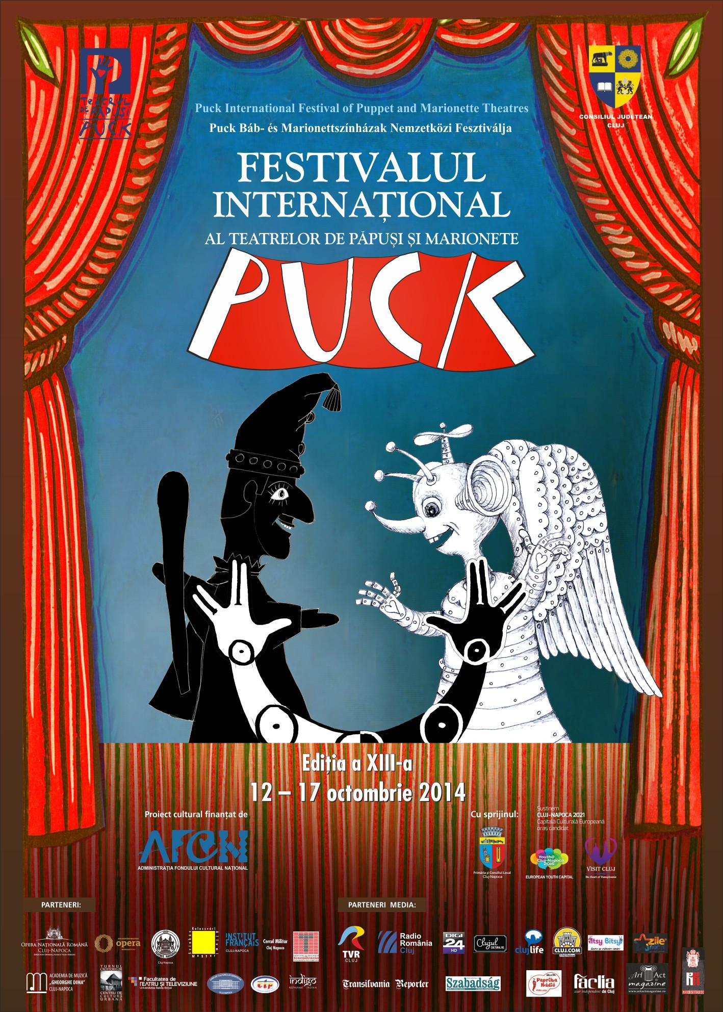 """Festivalul International al Teatrelor de Papusi si Marionete """"Puck"""""""