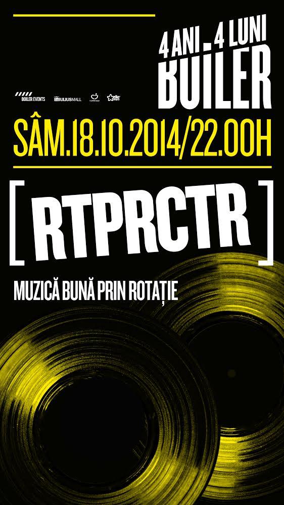 """RTPRCTR – """"MUZICĂ BUNĂ PRIN ROTAŢIE"""""""