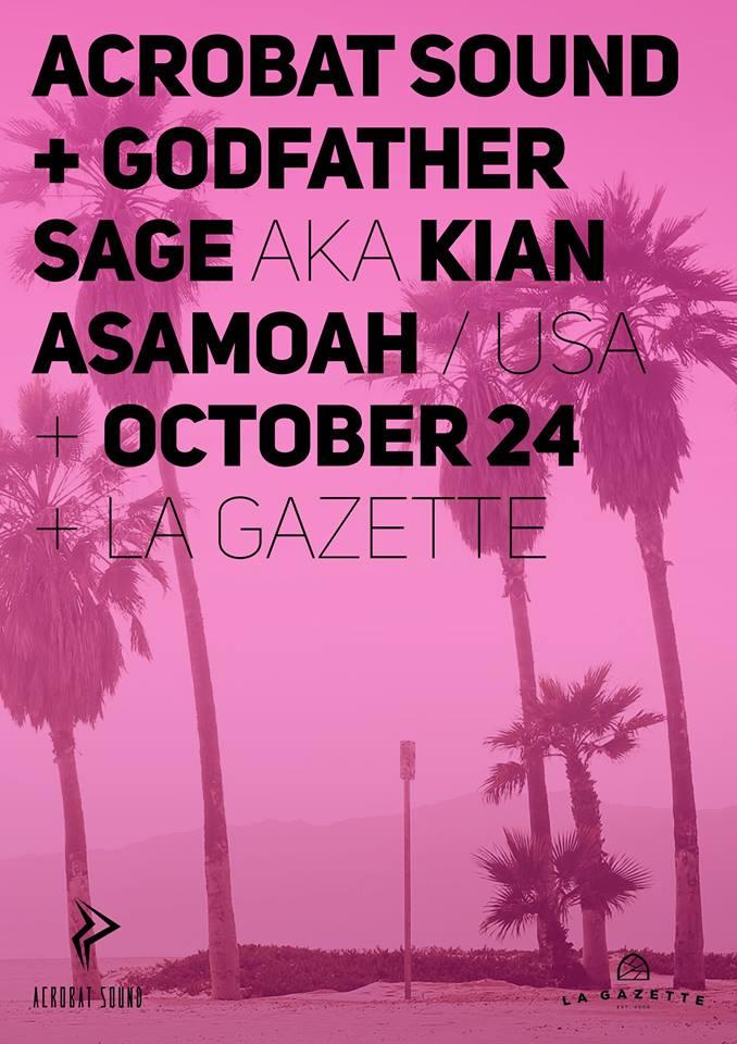 Godfather Sage @ La Gazette
