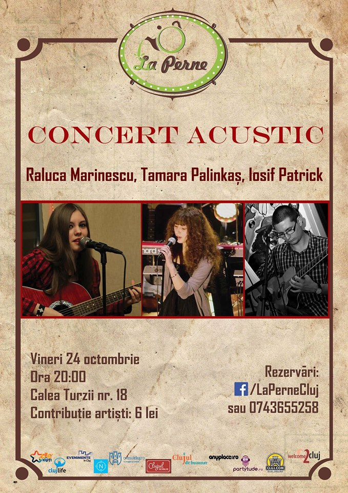Concert Acustic @ La Perne