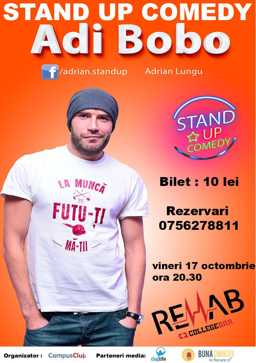 Stand-up Comedy cu Adi Bobo