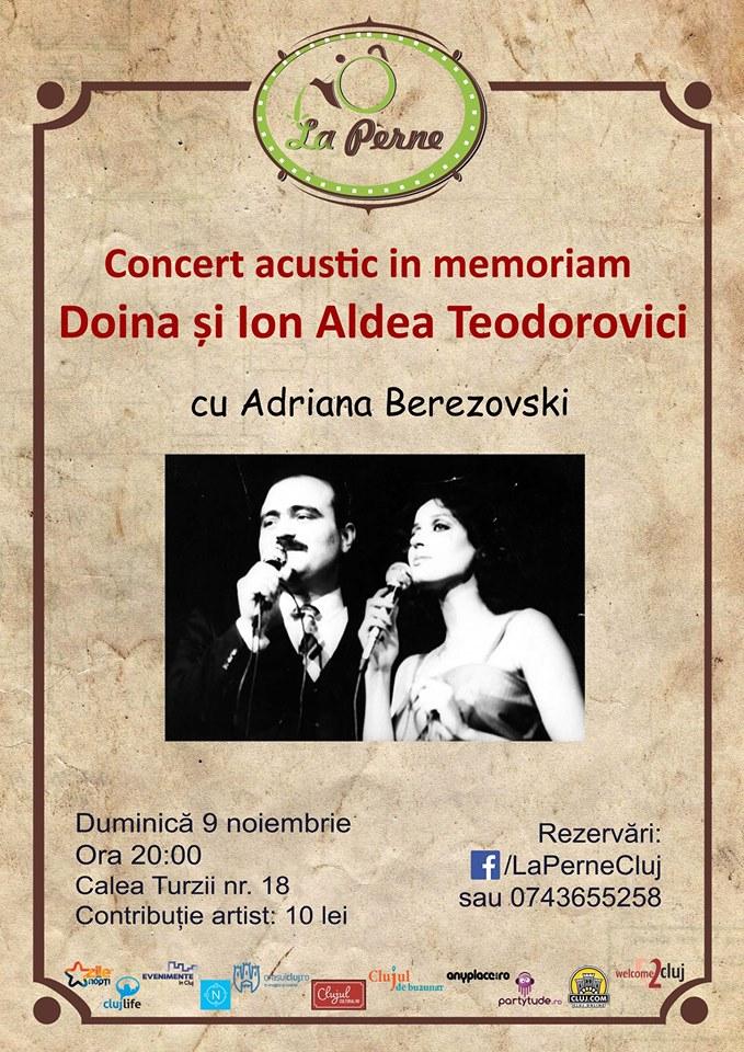 Concert acustic in memoriam Doina și Ion Aldea Teodorovici