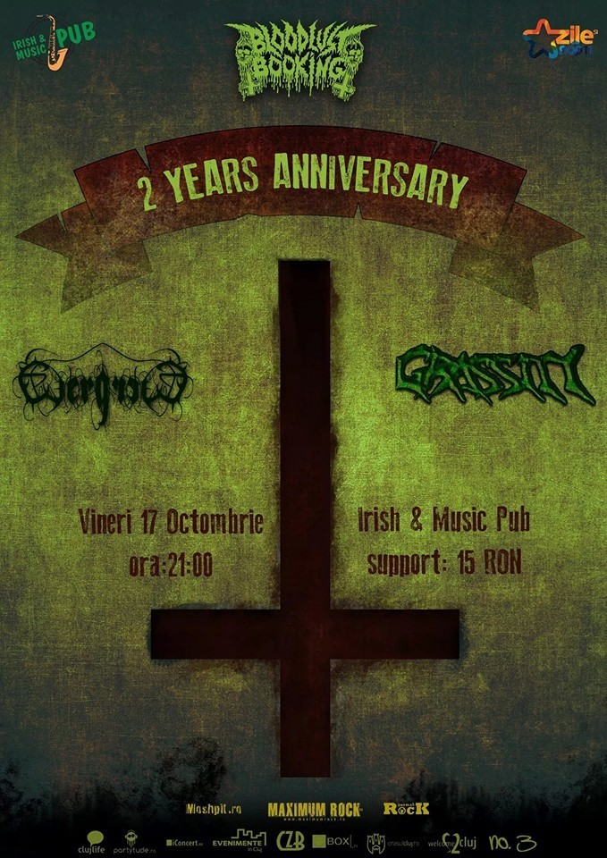 Bloodlust Booking 2 years anniversary