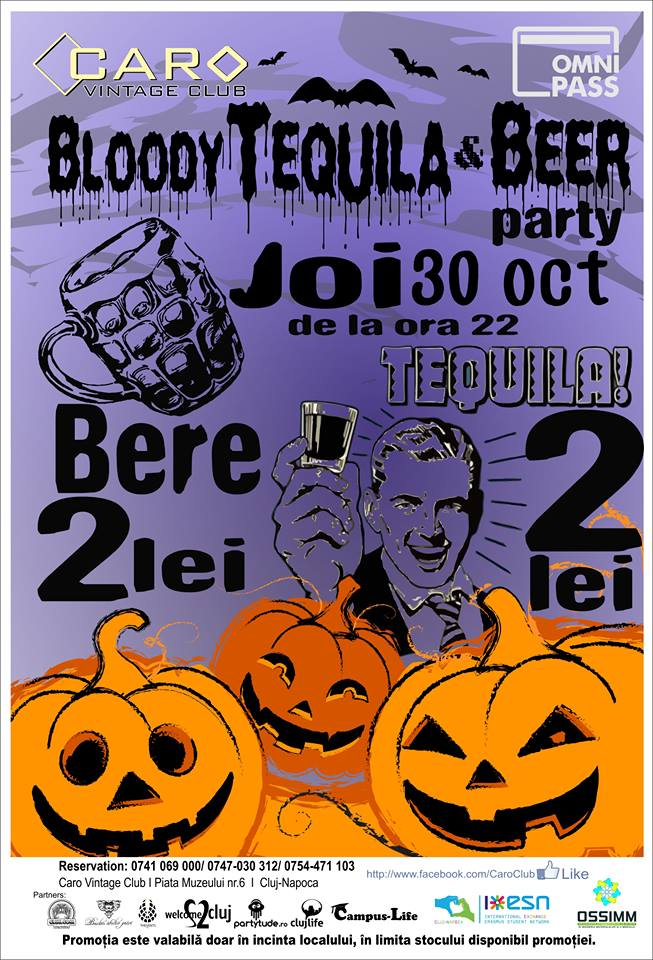 Bloody Beer & Tequila Party @ Caro Club