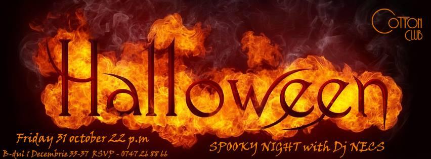 Halloween Spooky Night @ Cotton