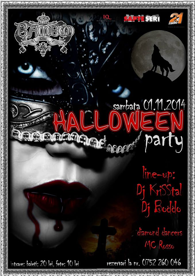 Halloween Party @ Club Bamboo
