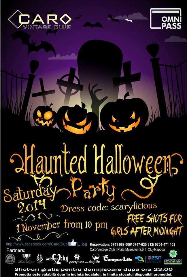 Haunted Halloween @ Caro Club