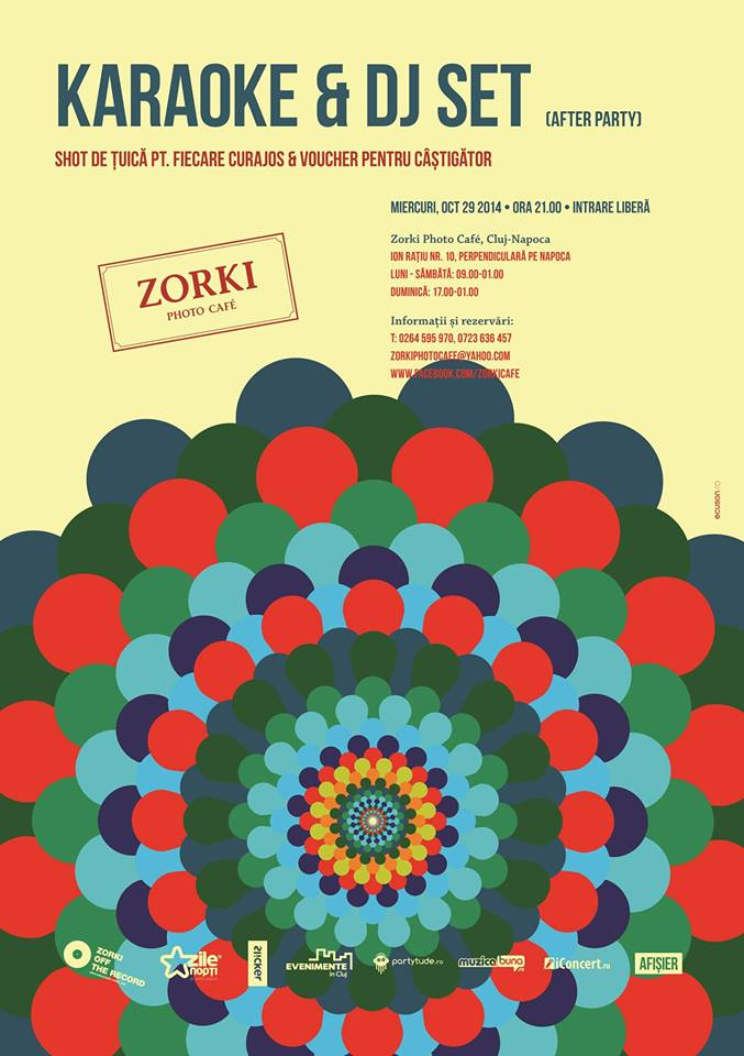 Karaoke & djset @ Zorki Photo Cafe
