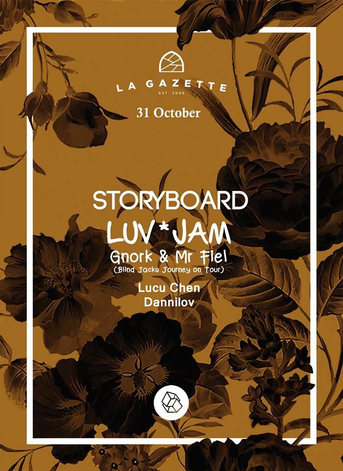 LUV*JAM / Gnork & Mr. Fiel @ La Gazette