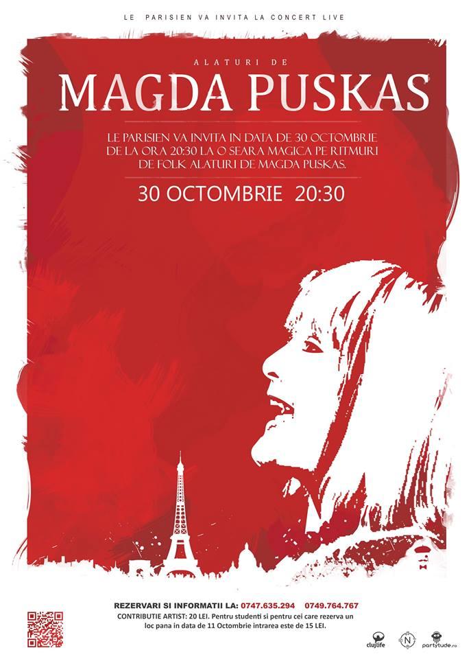 Magda Puskas @ Le Parisien