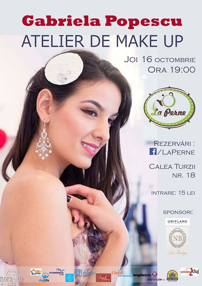 Atelier de make-up @ La Perne