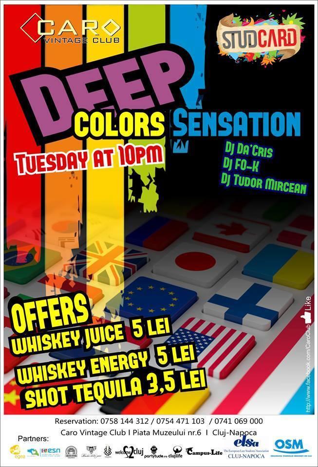 Deep Color Sensation @ Caro Club