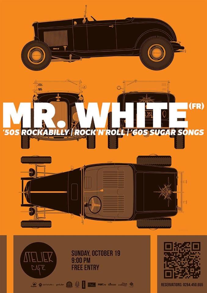 Mr. White @ Atelier Cafe