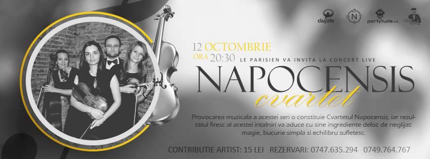 Cvartetul Napocensis @ Le Parisien