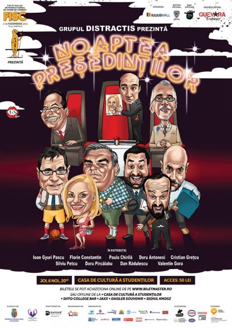 Spectacol de comedie cu DISTRACTIS
