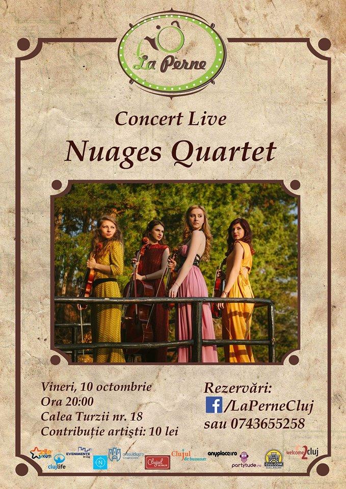 Nuages Quartet @ La Perne