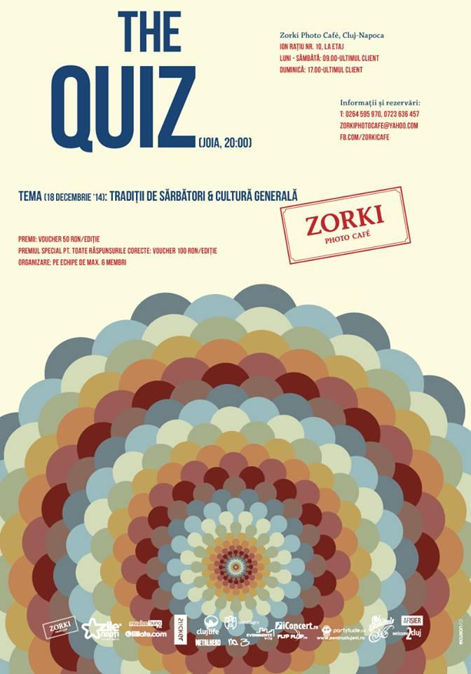The Quiz @ Zorki Photo Cafe