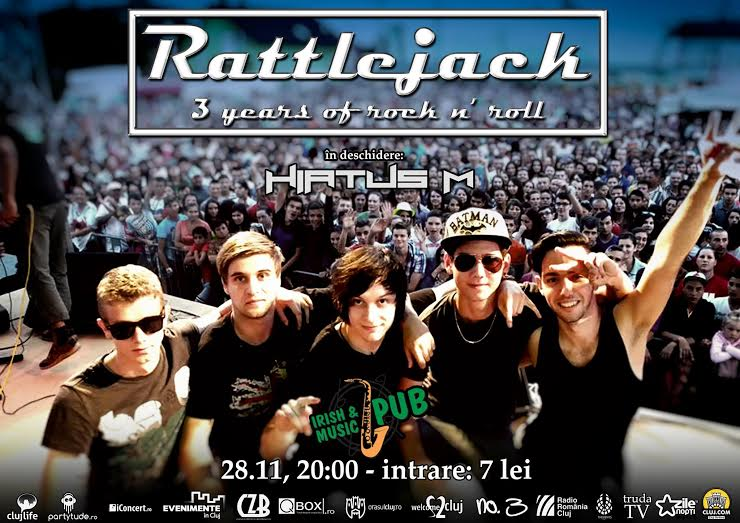 3 years of rock'n'roll w/ Rattlejack