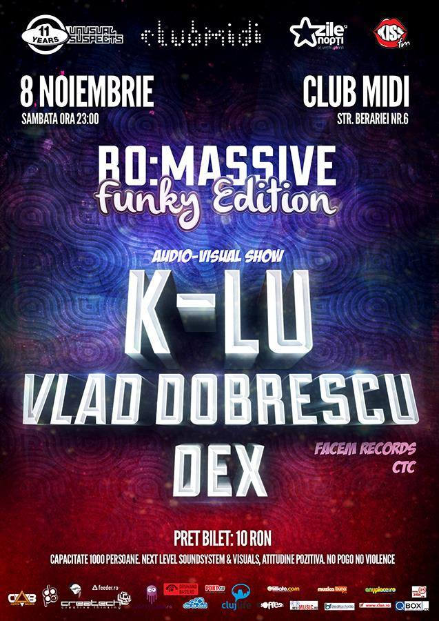 K-lu & Vlad Dobrescu @ Club Midi