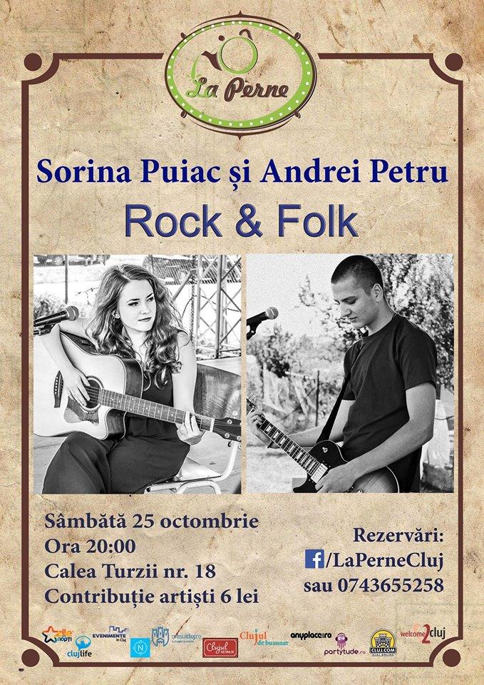 Sorina Puiac & Andrei Petru @ La Perne