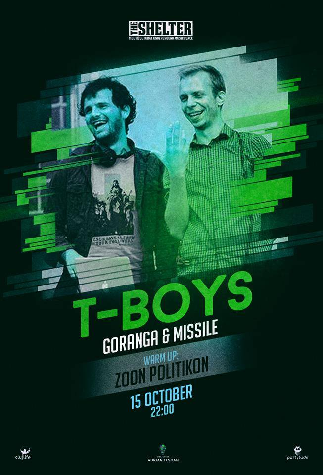 T-Boys: Goranga & Missile @ The Shelter