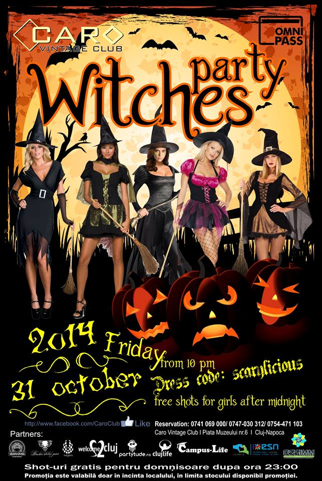 Witches Party @ Caro Club