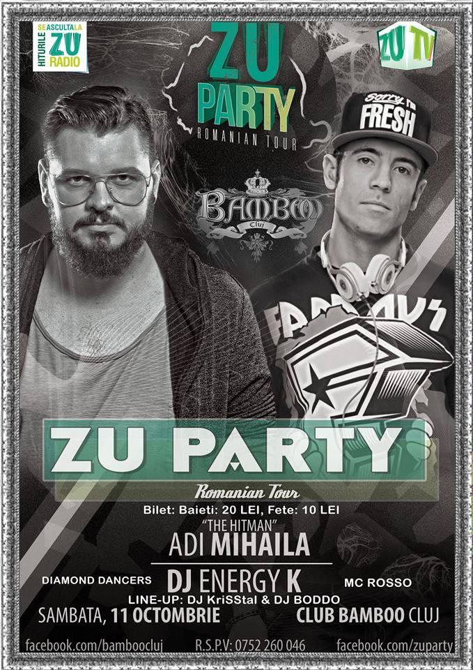 ZU Party @ Club Bamboo